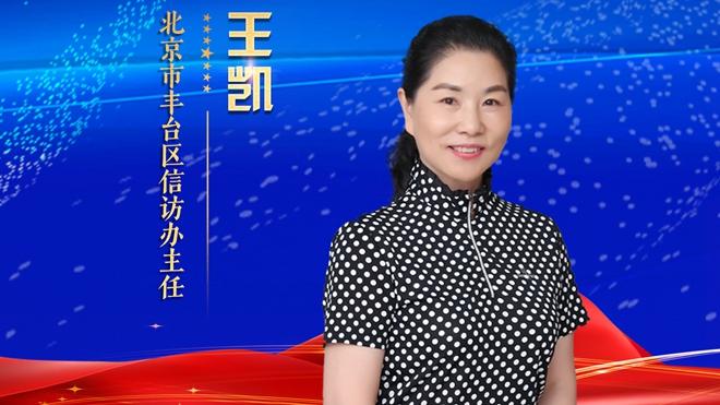北京市丰台区信访办主任王凯